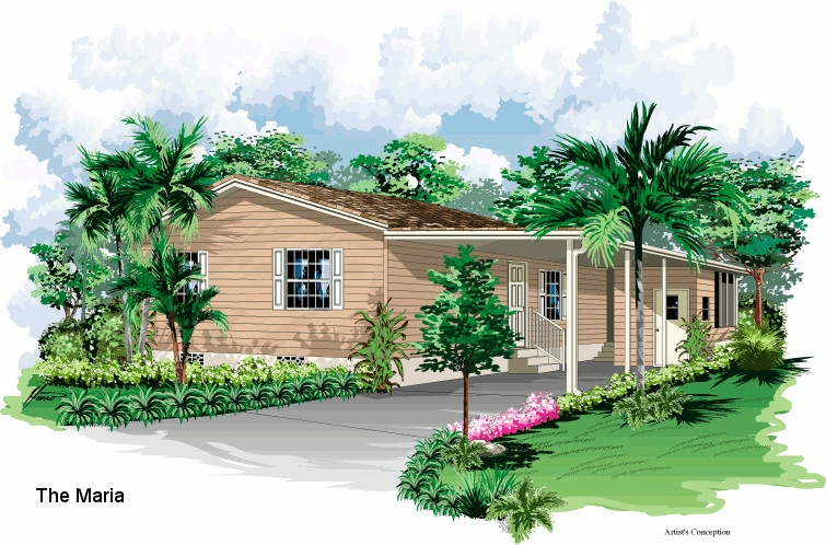 Maria model home elevation
